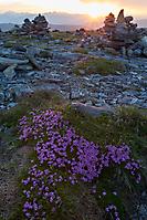 Sonnenuntergang  Nocky Mountains