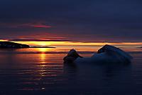 Sonnenuntergang in der Arktis #2